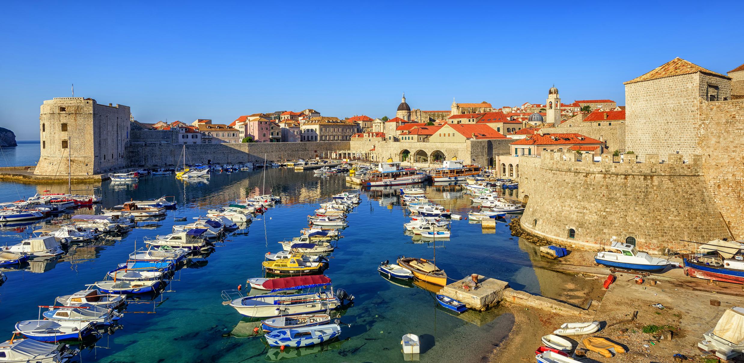 Dubrovnik rundt med leiebil